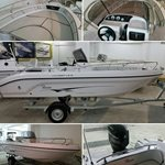 19ft RANIERI VOYAGER 19S Centre Console Boat Powered by MERCURY