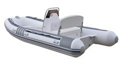 15ft MAXXON RIB 430 + Console & Seat Powered by Mercury